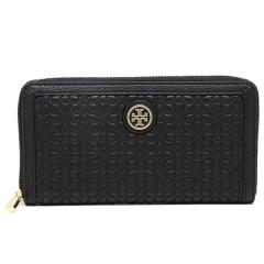 トリーバーチ TORY BURCH BRYANT ZIP CONTINENTAL WALLET 長財布 BLACK  5
