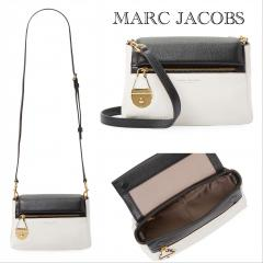 【Marc Jacobs】Colorblock Leather Shoulder Bag