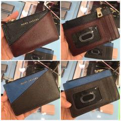 【Marc Jacobs】Leather Top Zip Wallet コインケース