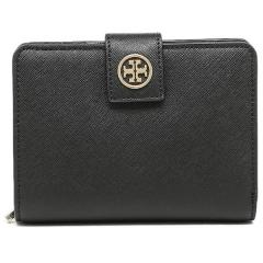 トリーバーチ TORY BURCH ROBINSON FRENCH FOLD WALLET 二つ折りBLACK  5