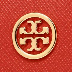 トリーバーチ TORY BURCH ROBINSON MINI WALLET 二つ折りPOPPY ORANGE/CARDAMOM  6