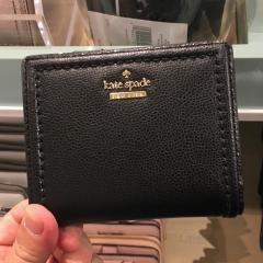 ケイトスペード レザー 折畳み 財布 kate spade patterson drive small shawn WLRU5294