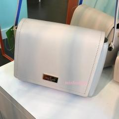 【kate spade】9月発表★レザー×スエード ポシェット'michela' 3