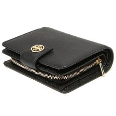 トリーバーチ TORY BURCH ROBINSON FRENCH FOLD WALLET 二つ折りBLACK  7