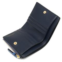 トリーバーチ TORY BURCH ROBINSON MINI WALLET 二つ折りREGAL BLUE/ROYAL NAVY 青  4