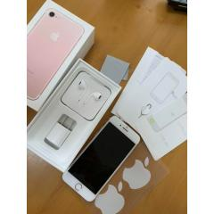 Apple iPhone 7 Rose Gold 128 GB Softbank