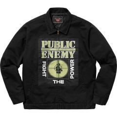 新作☆ Supreme SS18 Supreme x Undercover/Public Enemy Puffy Jacket Black ワークジャケット