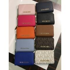 【Michael Kors】新作☆ JET SET TRAVEL ZIP AROUND COIN CASE