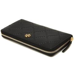 トリーバーチ TORY BURCH GEORGIA ZIP CONTINENTAL WALLET 長財布 BLACK 黒 7