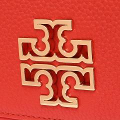 トリーバーチ TORY BURCH BRITTEN DUO ENVELOPE CONTINENTAL WALLET 長財布 オレンジ 6