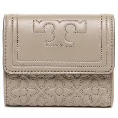 トリーバーチ TORY BURCH BRYANT FOLDABLE MINI WALLET 三つ折りグレー  5