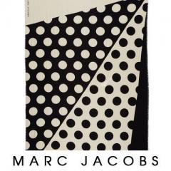 【Marc Jacobs】Big Spot Scarf 可愛い 大判 ドット柄 3