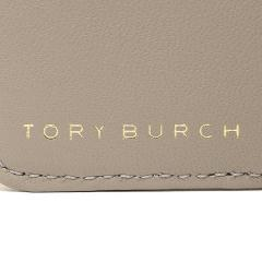 トリーバーチ TORY BURCH BRYANT FOLDABLE MINI WALLET 三つ折りグレー  8