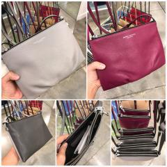 【Marc Jacobs】Leather Crossbody ダブルジップ