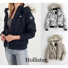 ホリスター Hollister COZY LINED BOMBER JACKET 日本未入荷