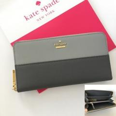 【kate spade】即発☆ cameron street lacey 長財布☆バイカラー