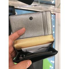【Marc Jacobs】Leather Compact wallet ミニ財布 4
