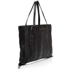 【Marc Jacobs】Wingman Stripe Shopping Tote ブラック 3