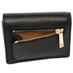 トリーバーチ TORY BURCH PARKER パーカー FOLDABLE MINI WALLET 二つ折りBLACK 黒  3
