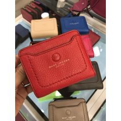 【Marc Jacobs】Leather wallet コンパクト 折りたたみ財布 2