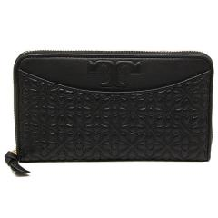トリーバーチ TORY BURCH BRYANT ZIP CONTINENTAL 長財布 BLACK 黒  5
