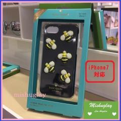 【kate spade】2月発表★可愛い3Dミツバチさん♪ iPhone7 case★