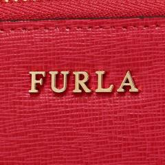 フルラ FURLA バビロン BABYLON XL ZIP AROUND L 長財布 RUBY 赤  6