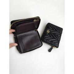 NWT COACH SMALL ZIP AROUND WALLET WITH QUILTING F31600 6