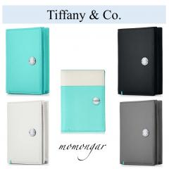 ティファニー Tiffany & Co. Vertical Folded Card Case カード ケース