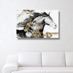 Oliver Gal Gold and Black Beauty キャンバス 76x51(cm) 2