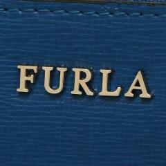 フルラ FURLA バビロン BABYLON XL ZIP AROUND 長財布 BLU PAVONE 青  6
