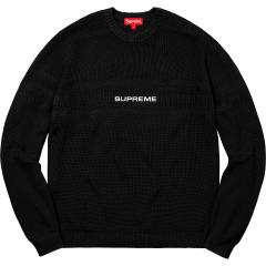 Supreme SS18 Week6 SS18 Supreme X Chest Stripe Raglan Sweater シュプリーム スウェット 5色
