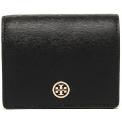 トリーバーチ TORY BURCH PARKER パーカー FOLDABLE MINI WALLET 二つ折りBLACK 黒  5