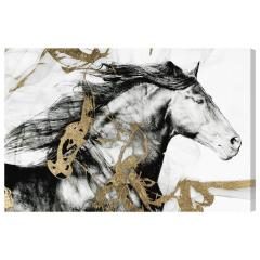 Oliver Gal Gold and Black Beauty キャンバス 76x51(cm)