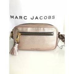 【Marc Jacobs】Metallic Zoom Leather Crossbody Bag 4