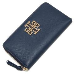 トリーバーチ TORY BURCH BRITTEN ZIP CONTINENTAL 長財布 HUDSON BAY 紺 4