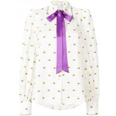 【Marc Jacobs】rose fill coupe tie neck blouse 4