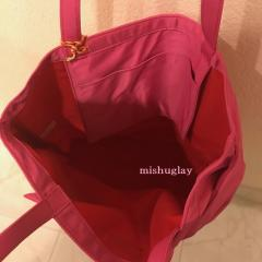 【kate spade】6月発表★on purpose♪リボン nylon tote★ピンク 4