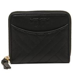 トリーバーチ TORY BURCH ALEXA Medium Zip Wallet 二つ折りBLACK 黒 5