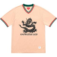 Supreme SS18 Week6 Supreme X Knowledge God Practice Jersey シュプリーム コットン ジャージ ピンク