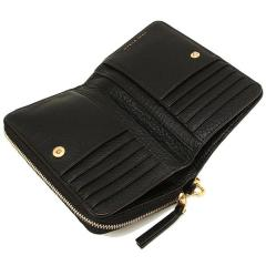 トリーバーチ TORY BURCH MCGRAW BI-FOLD WALLET 二つ折りBLACK 黒  4