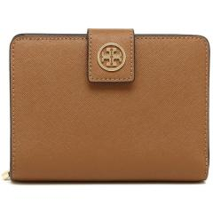 トリーバーチ TORY BURCH ROBINSON FRENCH FOLD WALLET 二つ折りTIGERS EYE 茶色  5