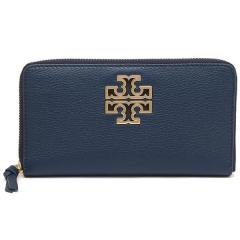 トリーバーチ TORY BURCH BRITTEN ZIP CONTINENTAL 長財布 HUDSON BAY 紺 5