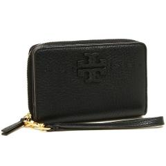 トリーバーチ TORY BURCH MCGRAW BI-FOLD WALLET 二つ折りBLACK 黒  1