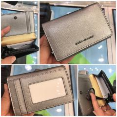 【Marc Jacobs】Leather Compact wallet ミニ財布