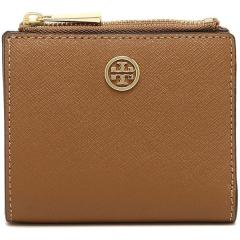 トリーバーチ TORY BURCH ROBINSON MINI WALLET 二つ折りTIGERS EYE 茶色 5