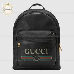 GUCCI グッチ【国内発送】プリント レザー バックパック 2