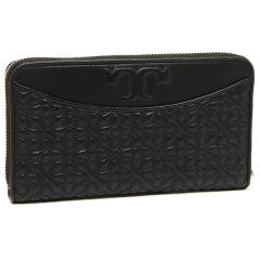 トリーバーチ TORY BURCH BRYANT ZIP CONTINENTAL 長財布 BLACK 黒  3