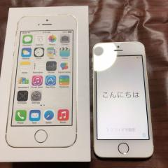 Apple iPhone 5s Gold 64GB Softbank 箱あり