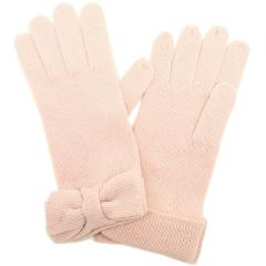 kate spade half bow glove ハーフボウグローブ リボン手袋 ローズピンク
